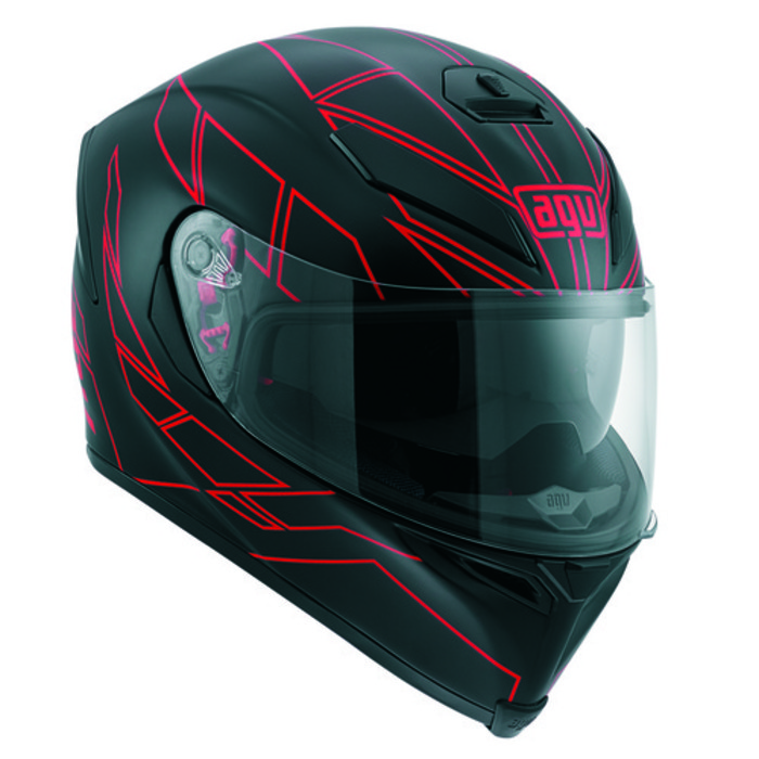 [AGV] K-5 SV HERO BLACK / RED