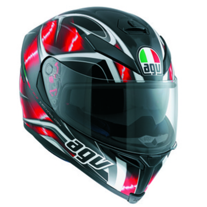 [AGV] K-5 SV HURRICANE / BLACK / RED / WHITE
