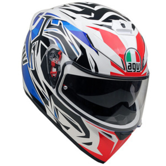 [AGV] K-3 SV ROOKIE WHITE / BLUE / RED